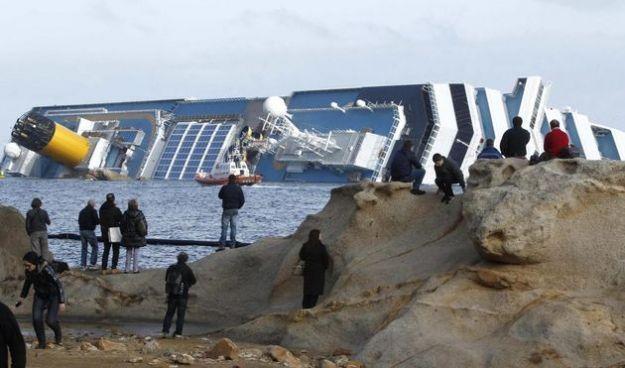 naufragio costa concordia contaminazione ambientale
