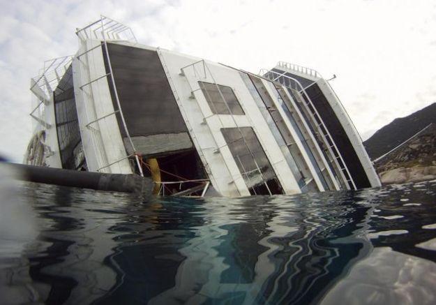 naufragio costa concordia inquinamento detersivi