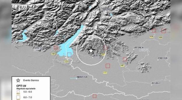 terremoto verona milano cause