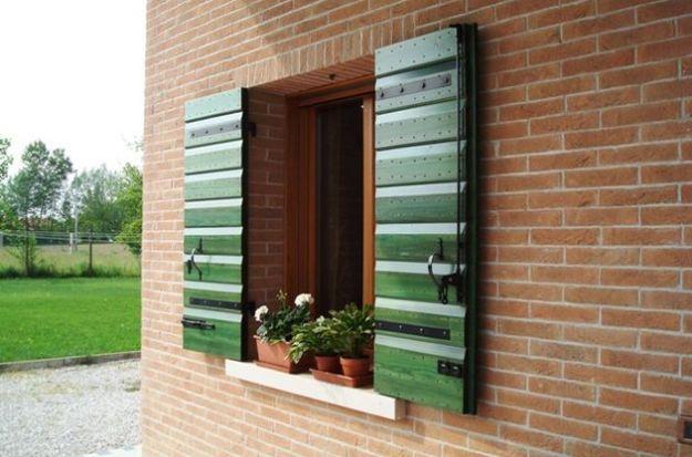 riciclo creativo vecchie finestre