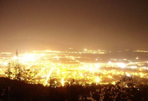 inquinamento luminoso ecosistema