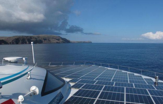 energia solare yacht