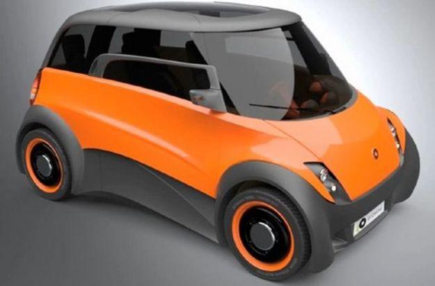 auto elettriche 2012 prototipo qbeak