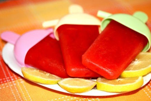 ghiaccioli fatti in casa ricetta estate