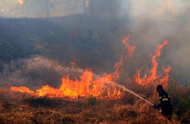 Emergenza nel sudovest della Grcia colpita da incendi