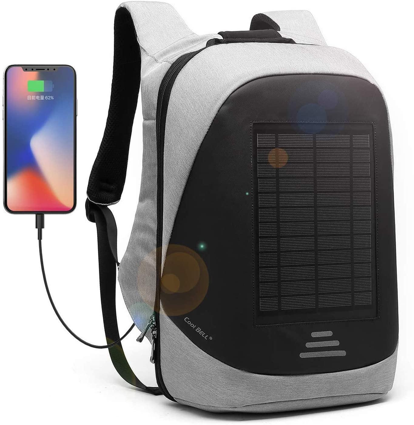 Zaino con pannelli solari Coolbell