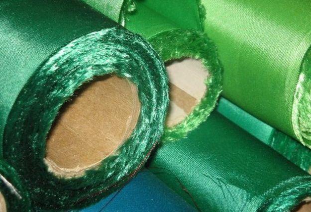 nylon verde materiale green