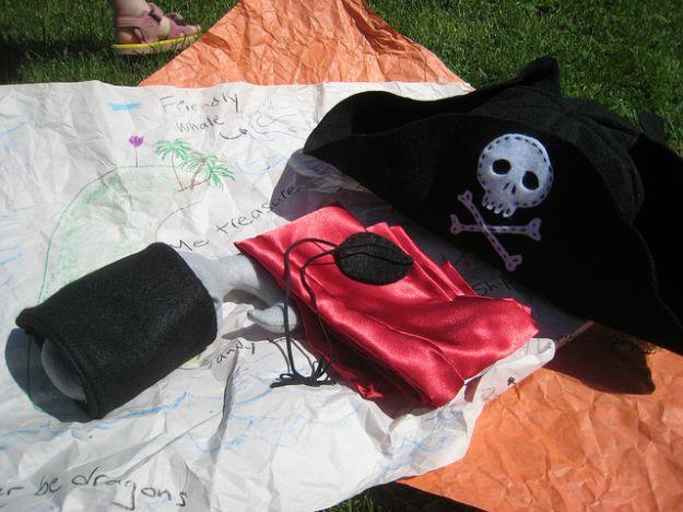 carnevale 2013 costume ecologico pirata