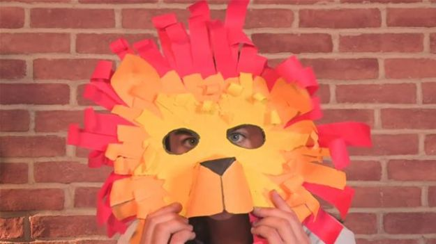 costumi carnevale leone