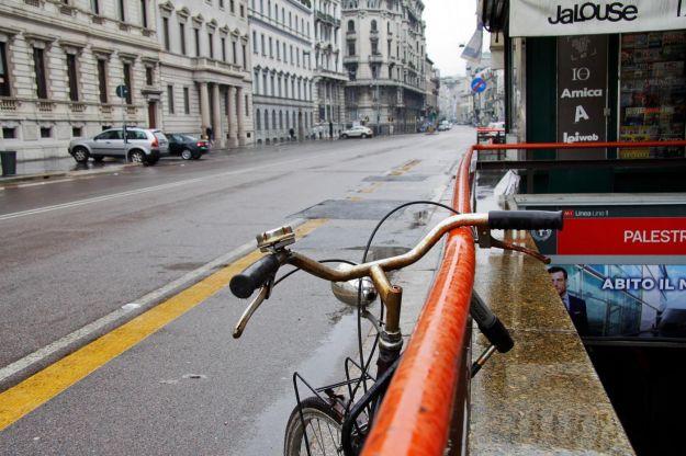 Giornata blocco del traffico a Milano