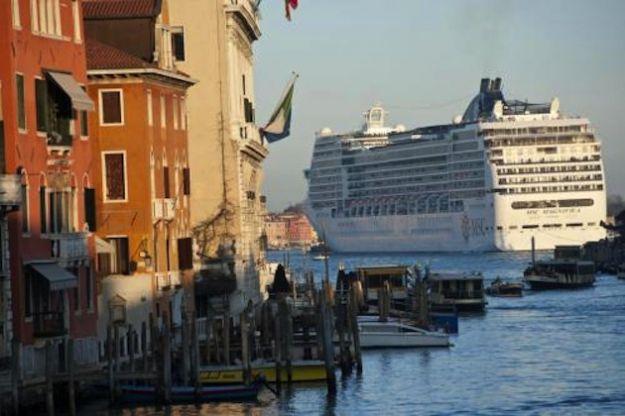 Grandi navi a Venezia