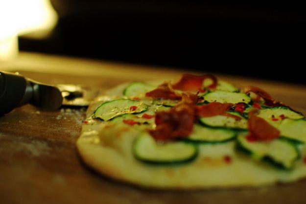 pizzette di sfoglia con zucca e spinaci