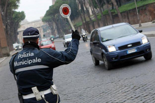 blocco del traffico a roma 19 gennaio