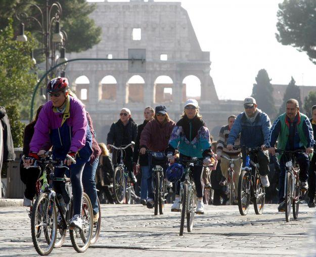 blocco del traffico a roma giovedi 9 gennaio