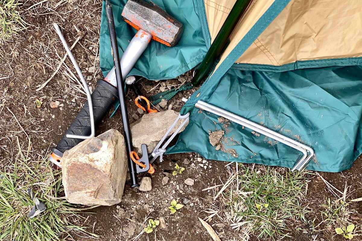 Come montare la tenda da campeggio