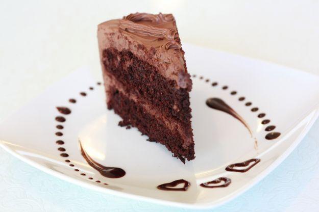 vegan chocolate cake  foto di SweetonVge