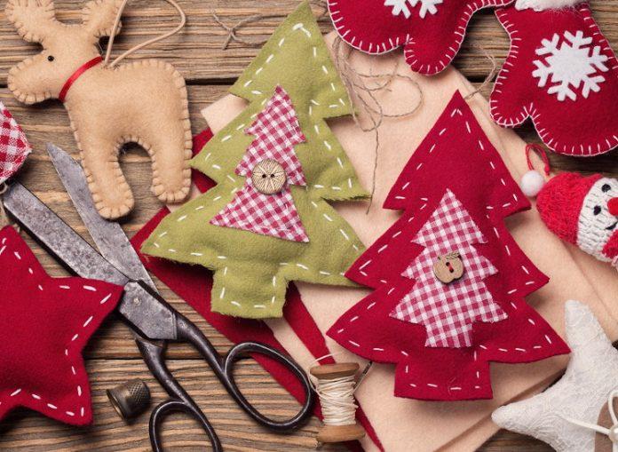 Lavoretti di Natale in feltro