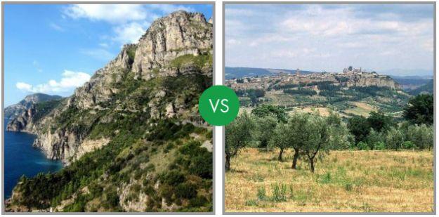 strada panoramica italiana sfida