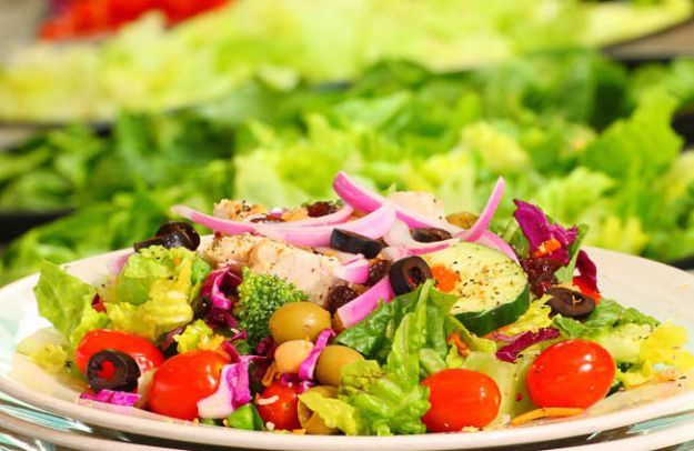 insalate estive vegetariane
