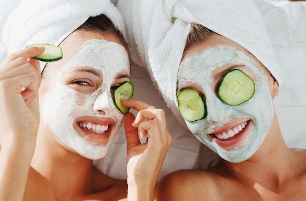 maschere naturali pelle secca viso