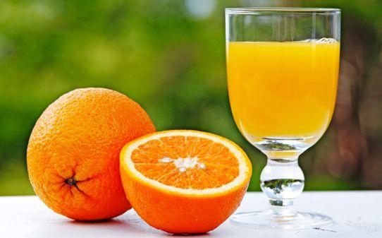 arance semi di lino bevande energizzanti