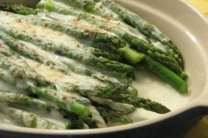 asparagi gratinati secondi piatti vegani