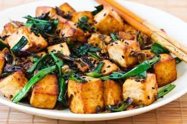 bastoncini di tofu secondi piatti vegani