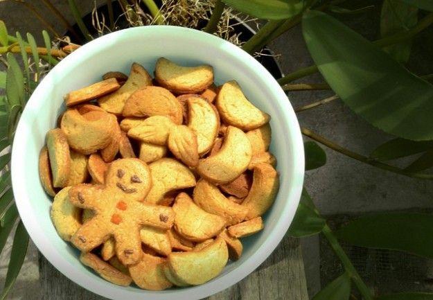 biscotti zenzero dolci natalizi vegani