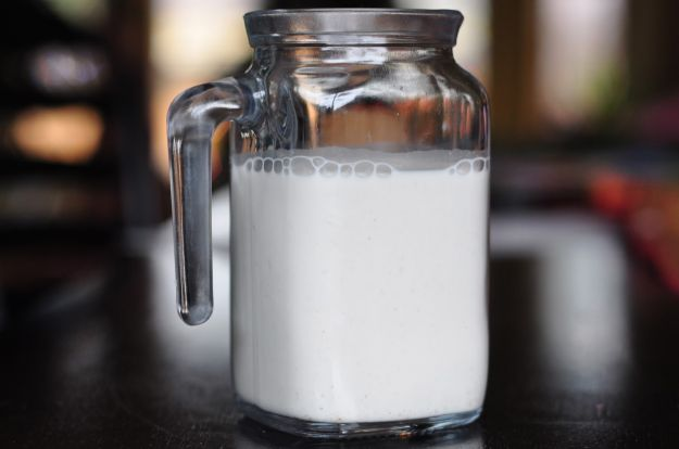 latte di canapa