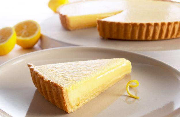crostata al limone vegan ricetta