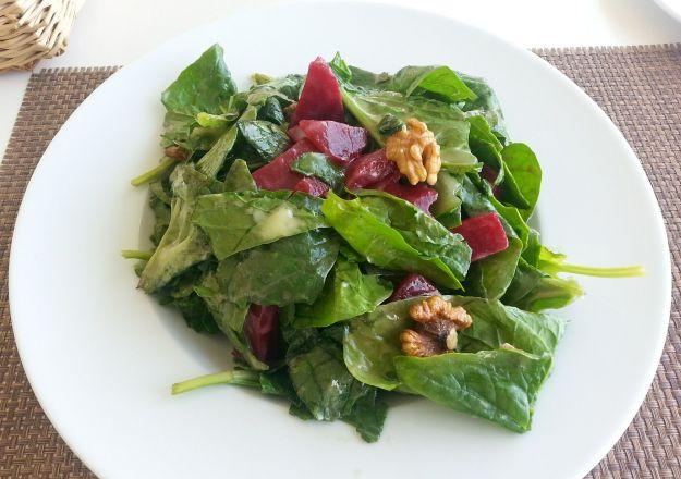 migliori ricette vegan spinaci