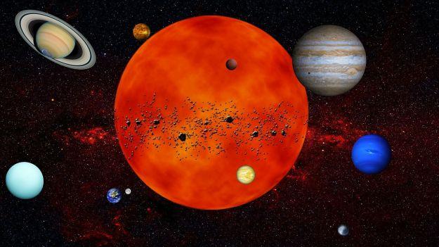 sistema solare quiz