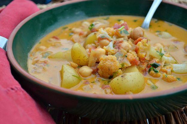 zuppa di ceci ricetta vegan