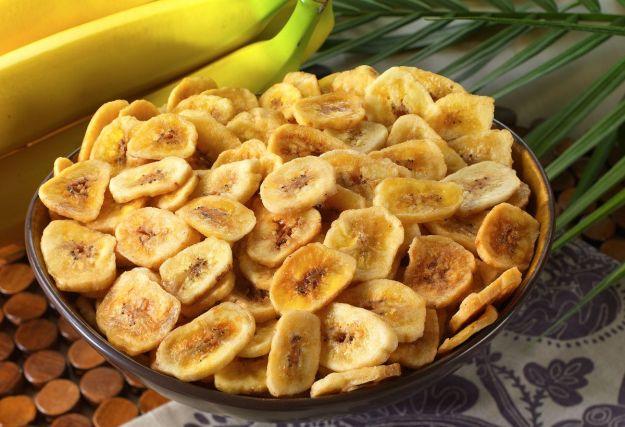 chips di banana vegan ricetta