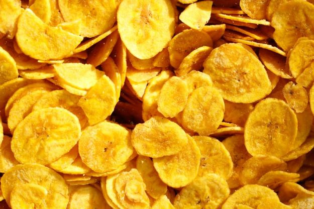 ricetta base chips banana