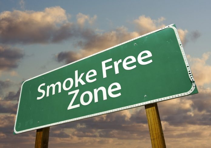 Smoke free, divieto di fumo
