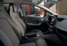 Renault Zoe, l'auto con rivestimenti fatti in materiali riciclati