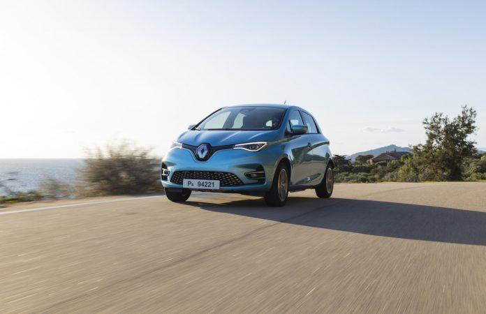 Renault ZOE, una delle migliori auto elettriche sul mercato