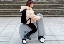 L'e-bike gonfiabile che arriva dal Giappone