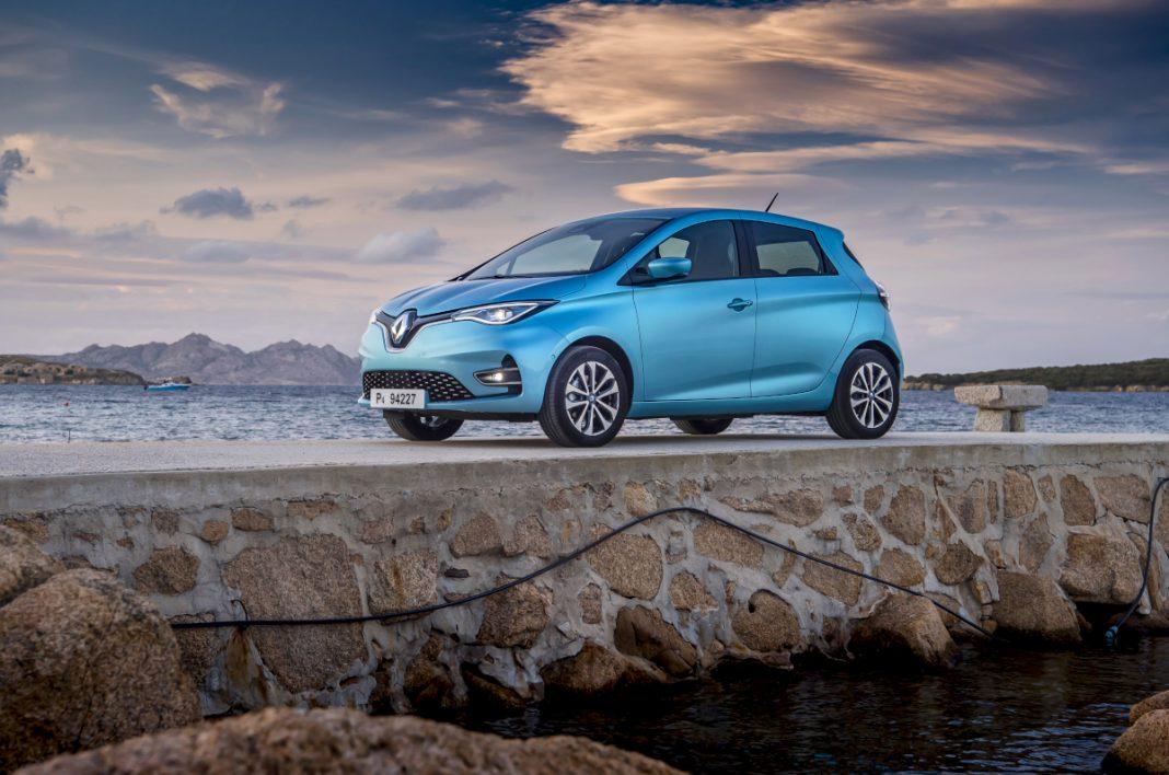 Renault ZOE: auto elettriche