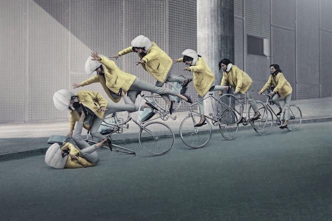 Il casco con airbag pensato per i ciclisti