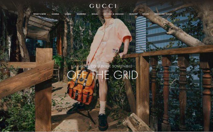 Gucci nuova collezione sostenibile Gucci Off the grid