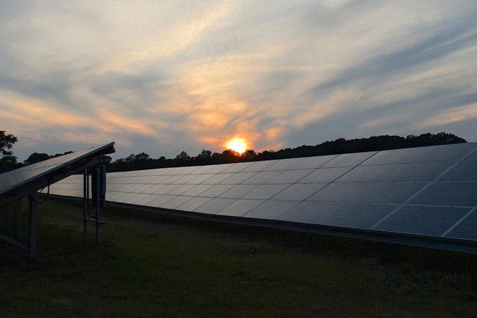 pannelli solari notturni