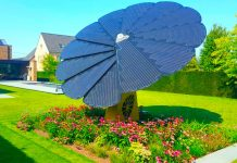 Smart Solar flower, impianto fotovoltaico girasole