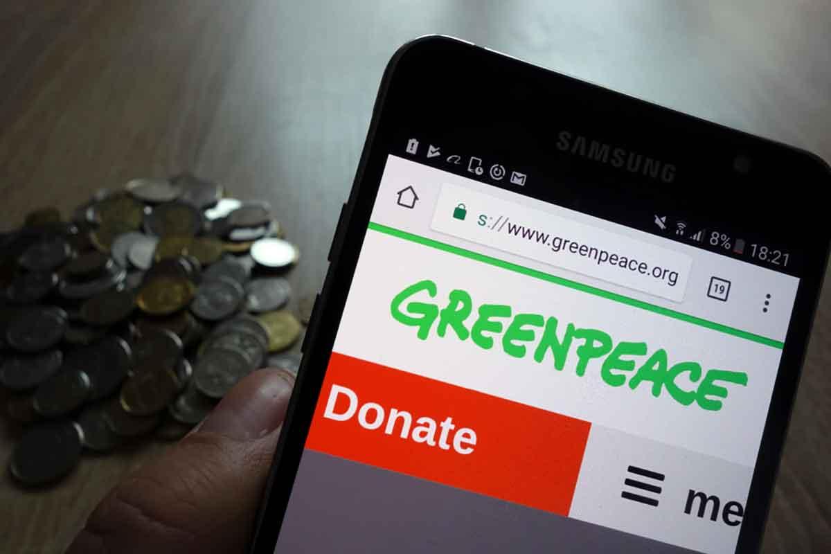Donazione 5x1000 Greenpeace