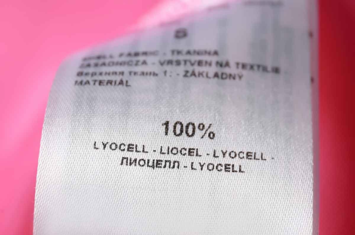 Etichetta 100% lyocell