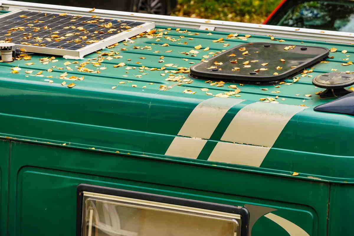 Pannelli solari per camper