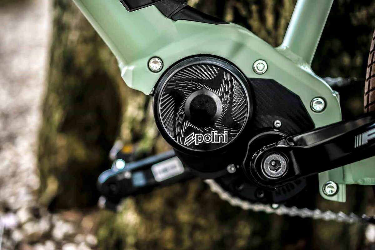 Bikel Urban motore Polini