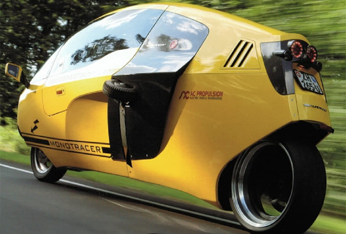 Monoracer 130E in strada