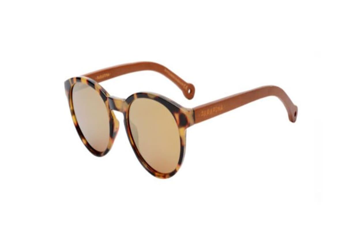 occhiali da sole sostenibili parafina in bamboo e plastica riciclata